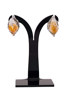 Sandra Earrings in Citrine