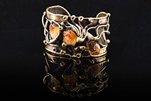Sintra Cuff Bracelet in Brass