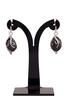 Hanna Drop Earrings in Black Onyx