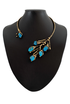 Fernandes in Turquoise Howlite in Brass